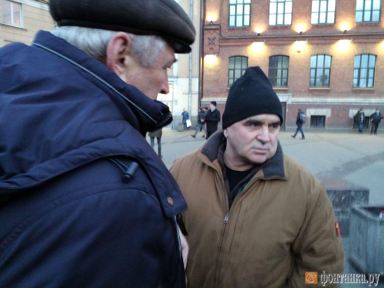 На фото крымско-татарский активист Асан