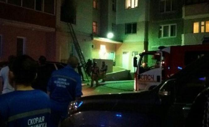 Пожар на улице Широтной: из девятиэтажного дома эвакуировали 20 человек