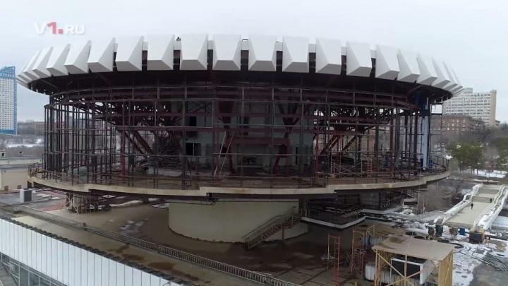 «Шайбу» в речпорту Волгограда оставили без единого стекла
