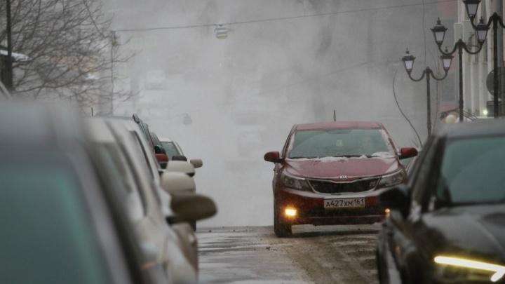 Из-за метели федеральные трассы в Ростовской области закрыты
