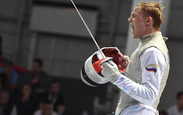 Самарский рапирист стал двукратным победителем первенства мира по фехтованию