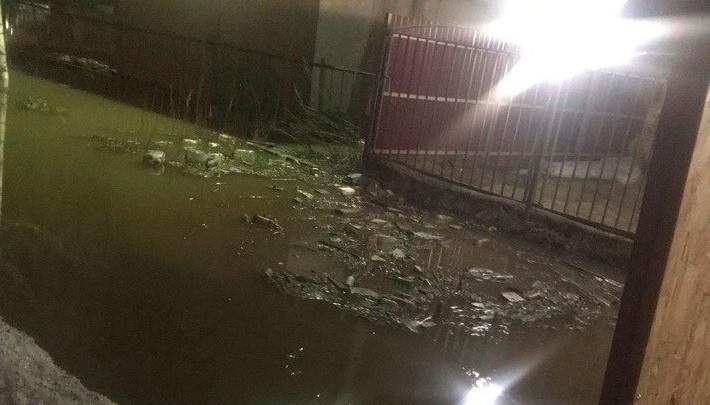 Залило так, что фура провалится: в Ярославле из-за талого снега начался потоп