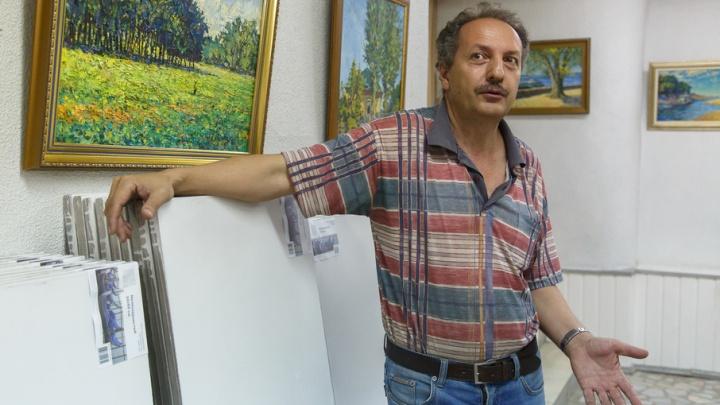 Волгоградского художника выселяют из галереи при Серебряковке