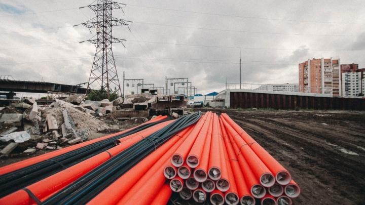 Развязку на Монтажников завершат к концу 2018 года: строителям необходимо возвести еще четыре съезда