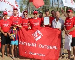 Команда «Красного Октября» стала призером волейбольного турнира
