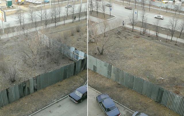 Торговый комплекс «съест» ещё один газон на северо-западе Челябинска