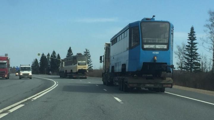 Эти ещё не к нам: стало известно, когда в Ярославль привезут московские трамваи