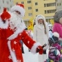 ГК «Тополинка» поздравила своих жителей с Новым годом яркими праздниками