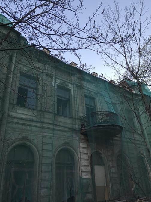 Дом А.Е. Вяземского и здание механической мастерской Р.М. Ветцера (Каменноостровский пр., д. 58-60)