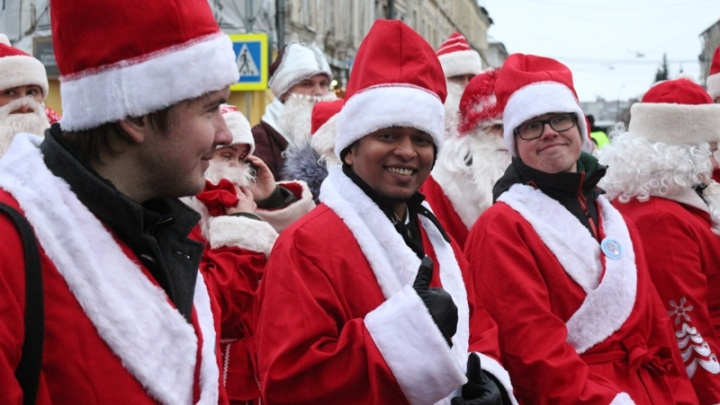 Всемирное нашествие Дедов Морозов: как это было