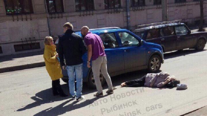 В Рыбинске сбили пенсионерку: женщина получила серьёзные травмы
