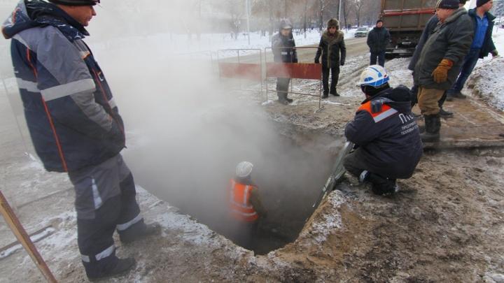 Крупная утечка: в Новокуйбышевске более 3 тысяч жителей остались без отопления