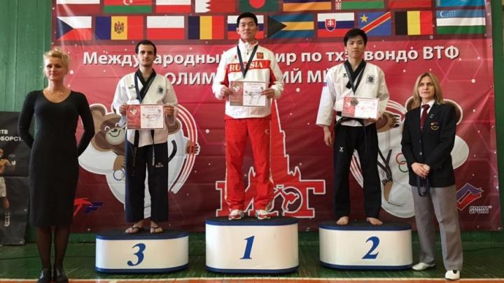 Ростовский тхэквондист стал победителем международного турнира в Москве