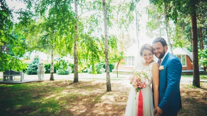 Идеальная свадьба под открытым небом