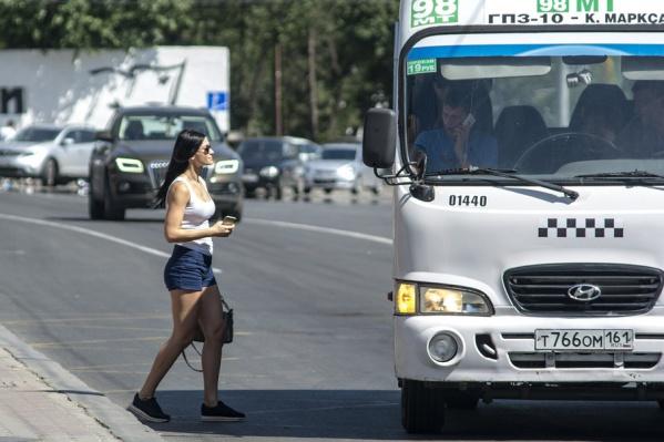 Ростовчане жалуются на водителей маршруток