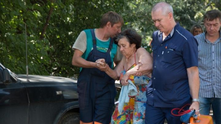 Ростов в огне: фоторепортаж с места событий