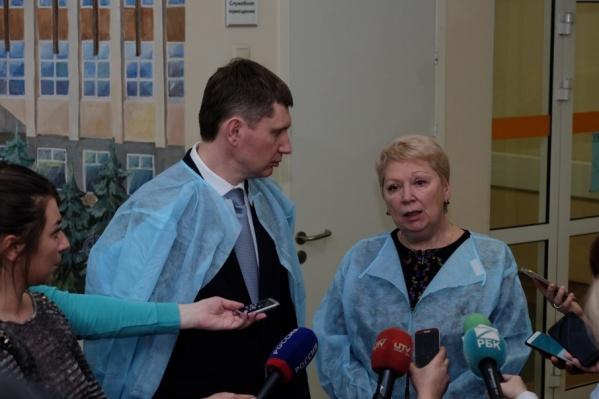 Ольга Васильева навестит пострадавших в больницах