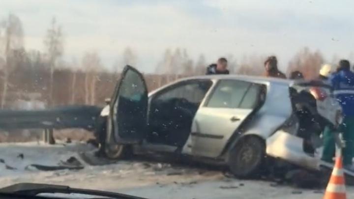 В ДТП под Челябинском погибла женщина