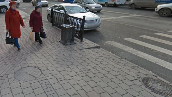 В центре Ростова водитель «Лады» избил женщину и скрылся