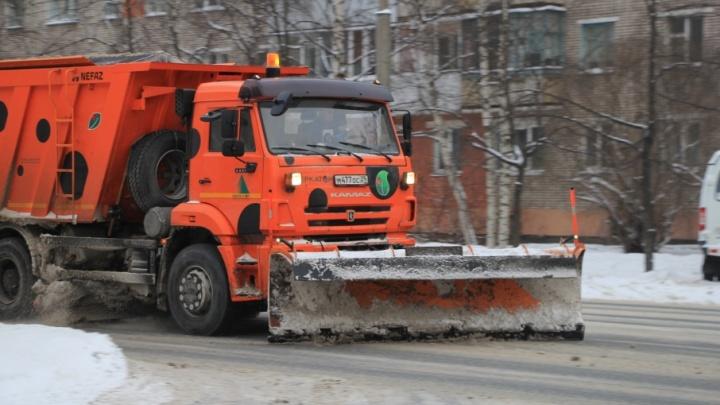 Архангелогородцы стали меньше жаловаться на уборку дорог столицы Поморья