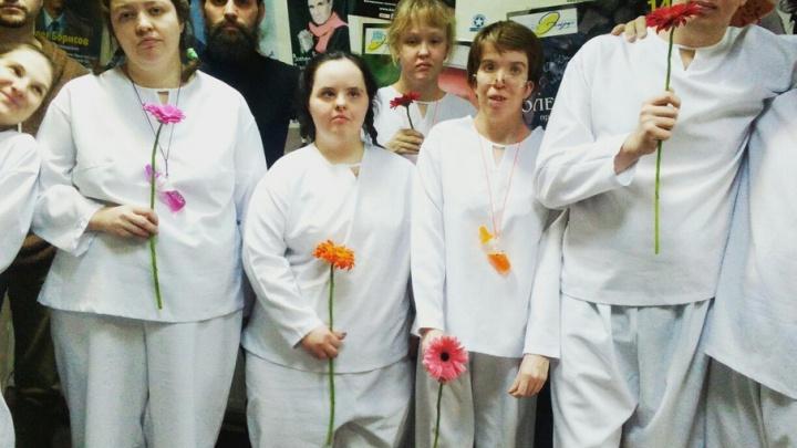 Пермские актеры с ментальными нарушениями выступят на фестивале уличных театров