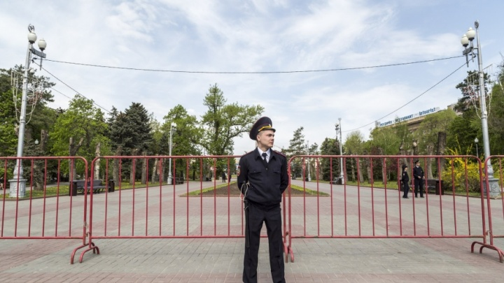 Центр Волгограда перекрыли из-за репетиции парада
