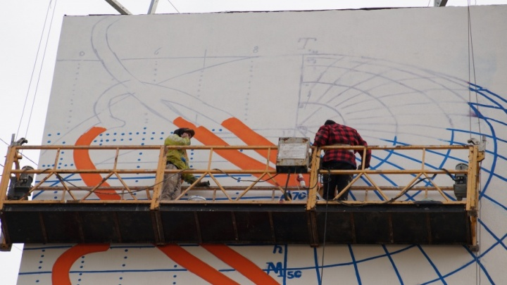 В Самаре нарисуют 11 граффити на фасадах домов