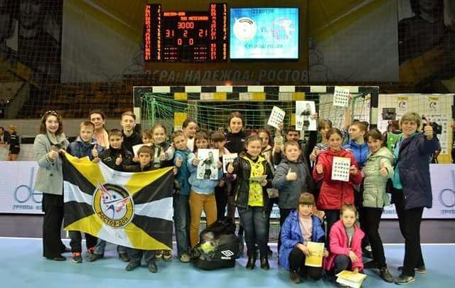 Юные гандболисты из Горловки встретили Пасху в Ростове