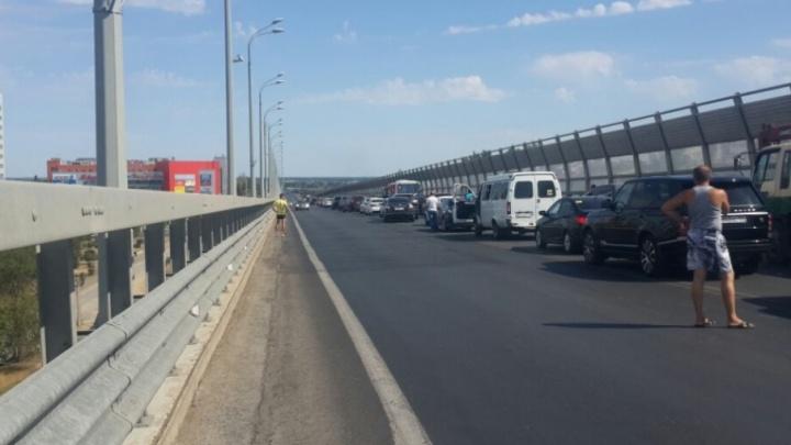 Из-за приезда Медведева в Волгограде перекрыли все основные дороги