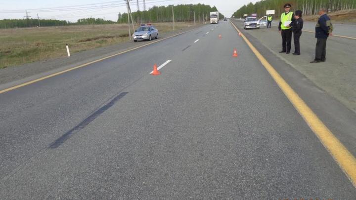 На трассе в Сосновском районе погиб пешеход