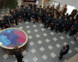Ростовскую АЭС посетили кадеты Волгоградской базовой школы МЧС РФ