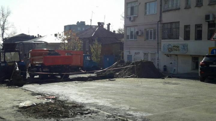 После публикации 161.ru в доме на Университетском дали воду