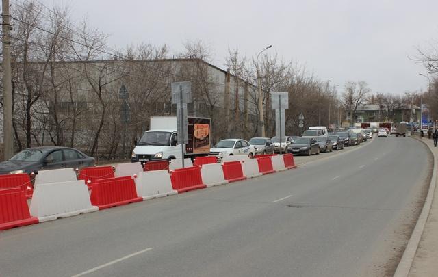 Самара без Южного моста: идем пешком и терпим