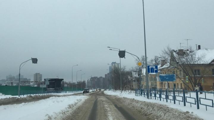 По Луначарского до Мичурина: с кольца убрали дорожные ограждения