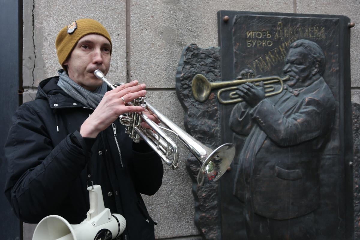 Музыканты почтили память народного артиста России Игоря Бурко