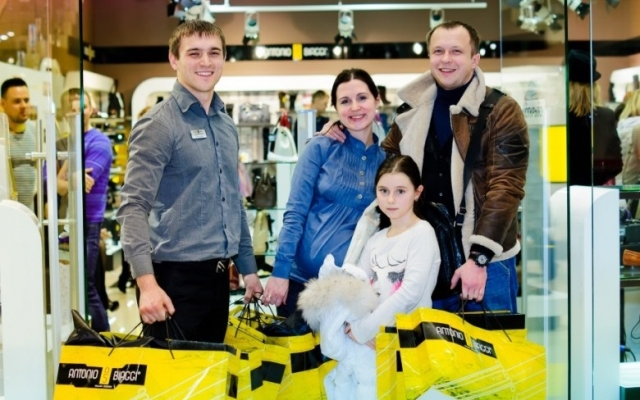 В Тюмени открылся магазин Аntonio Вiaggi