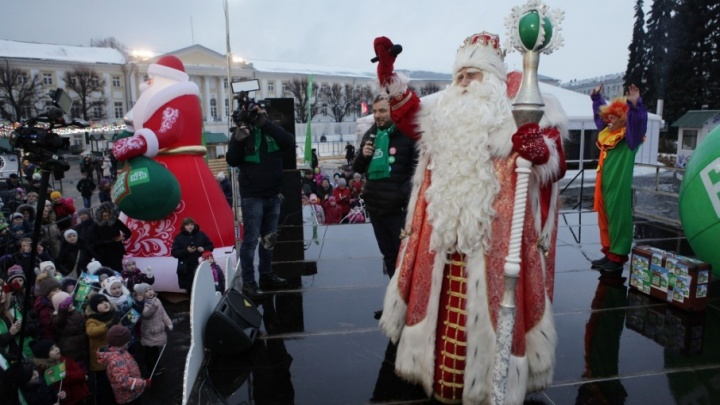 Главный Дед Мороз рассказал, о чем мечтают ярославские дети