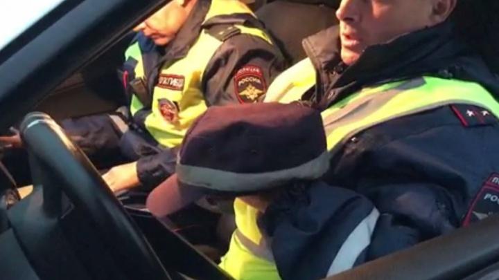 Гаишники будут пугать ярославских «гонщиков» разбитой машиной
