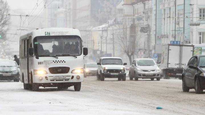 Полиция Ростова проверит информацию о ЧП с мужчиной, который брызнул в салон маршрутки из баллончика