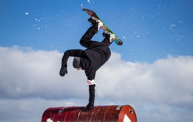 Битва сноубордистов
