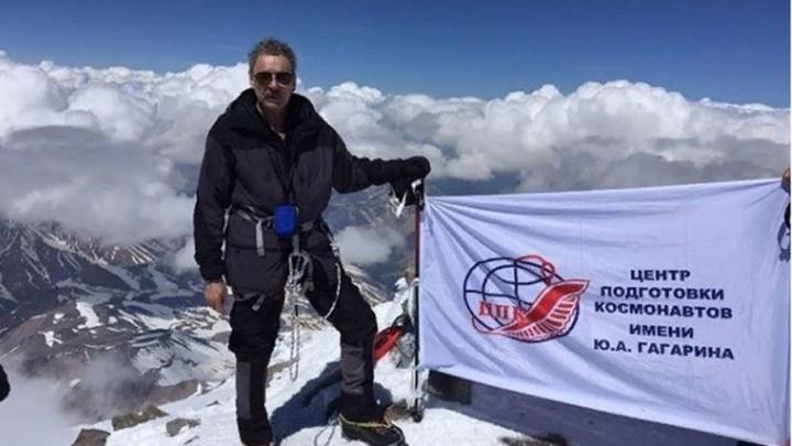 Сызранский космонавт забрался на вершину Эльбруса