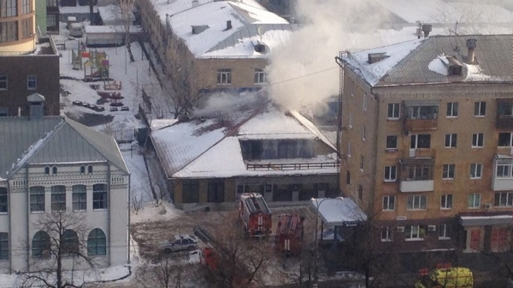 В ресторане «Хороший год» в центре Перми произошел пожар