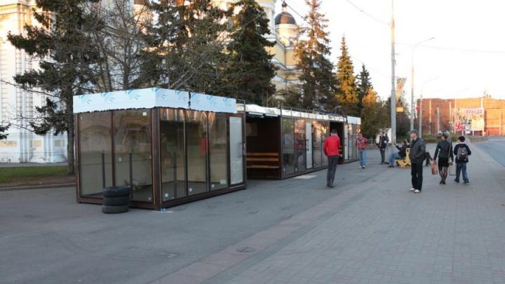 В Рыбинске появится остановка, на которой можно будет зарядить сотовый