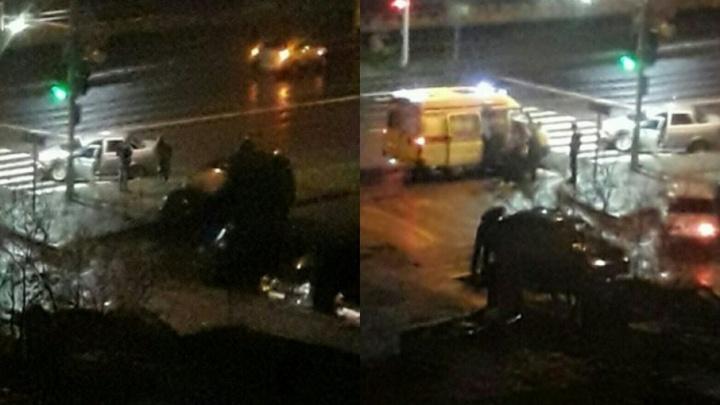 «Удар был жесткий»: на Харьковской водитель «Лады» устроил ДТП