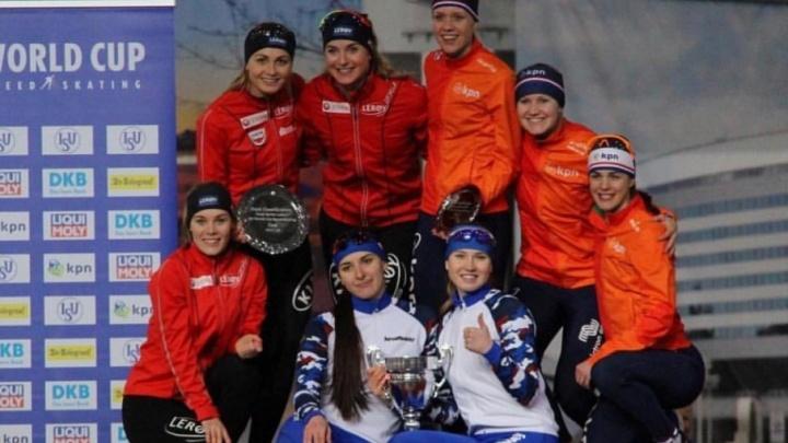 Челябинская конькобежка завоевала золото в финале Кубка мира