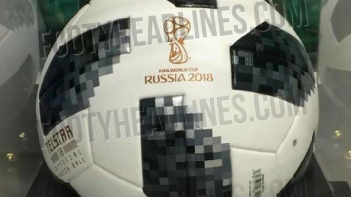 В интернете появилась фотография официального мяча ЧМ-2018