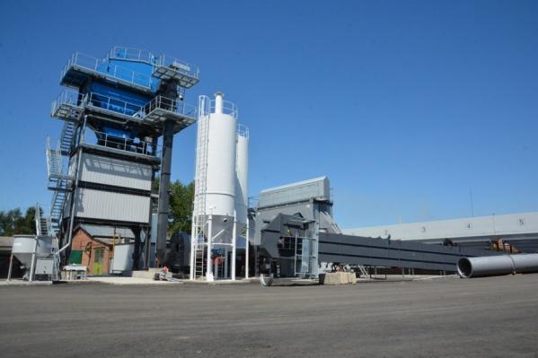 На заводе будут производить все существующие виды асфальтобетонной смеси