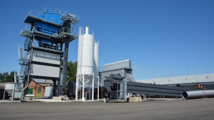 В Ростове завершается строительство нового асфальтобетонного завода