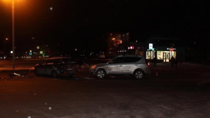 В Северодвинске один человек пострадал в тройном ДТП
