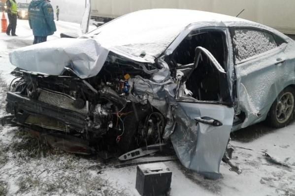 Предварительно, именно скончавшийся водитель был виновником страшного ДТП